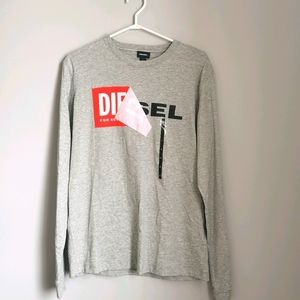 Diesel Logo Men's Long Sleeve Shirt